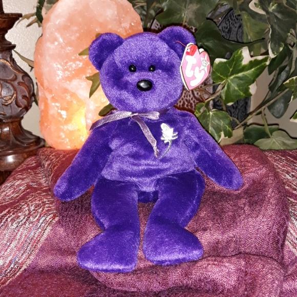 Ty Other 1997 Princess Diana Beanie Baby Bear Rare Poshmark